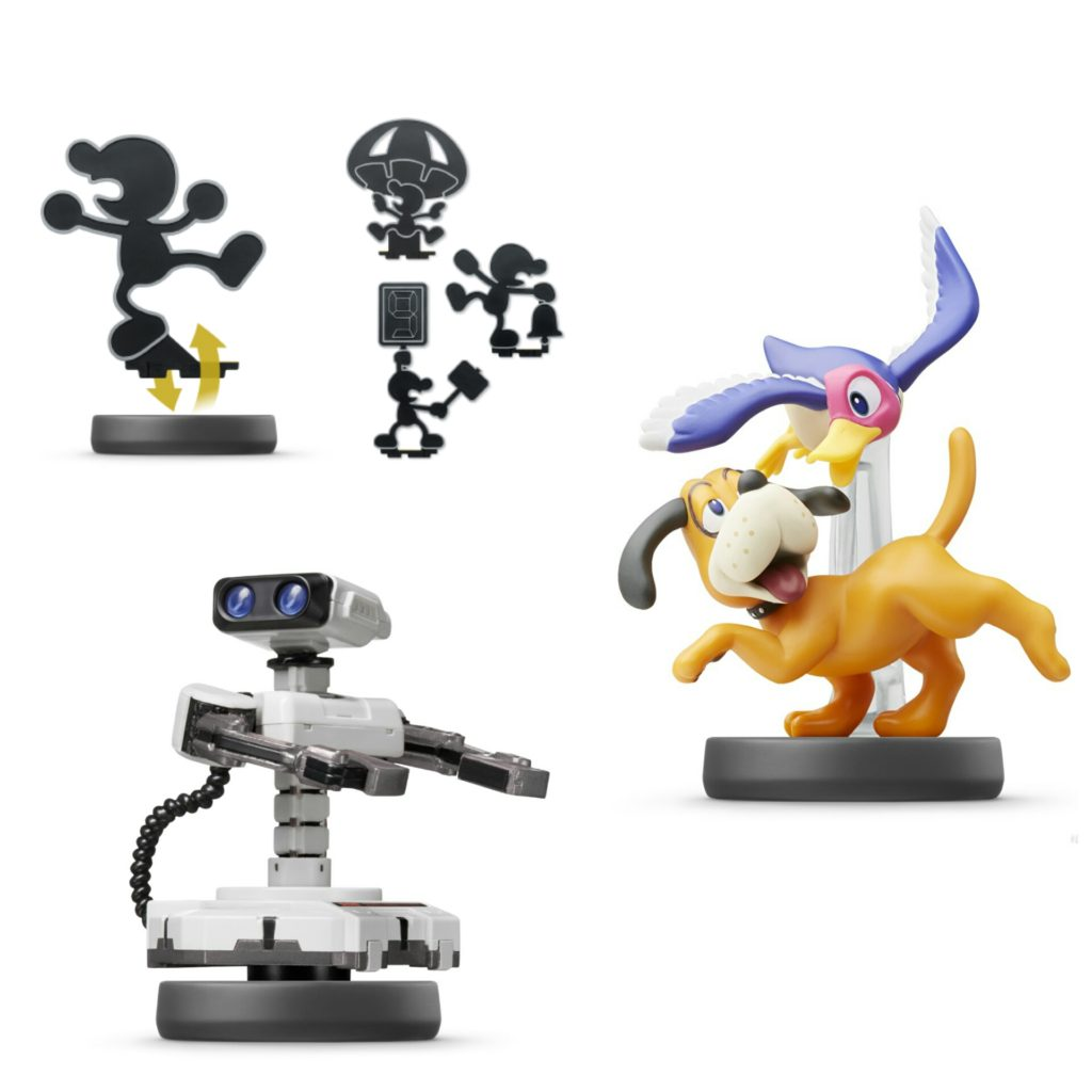 game stop Amiibo Retro 3 Pack