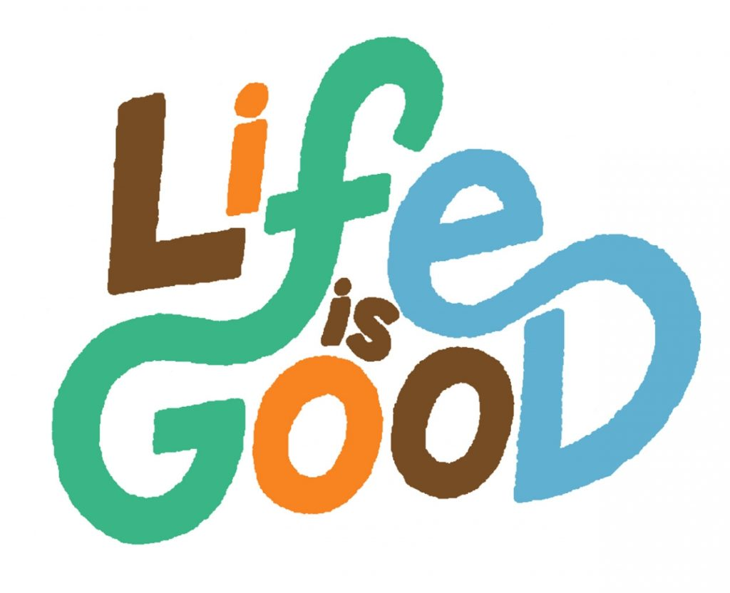 life is good sale 25% off