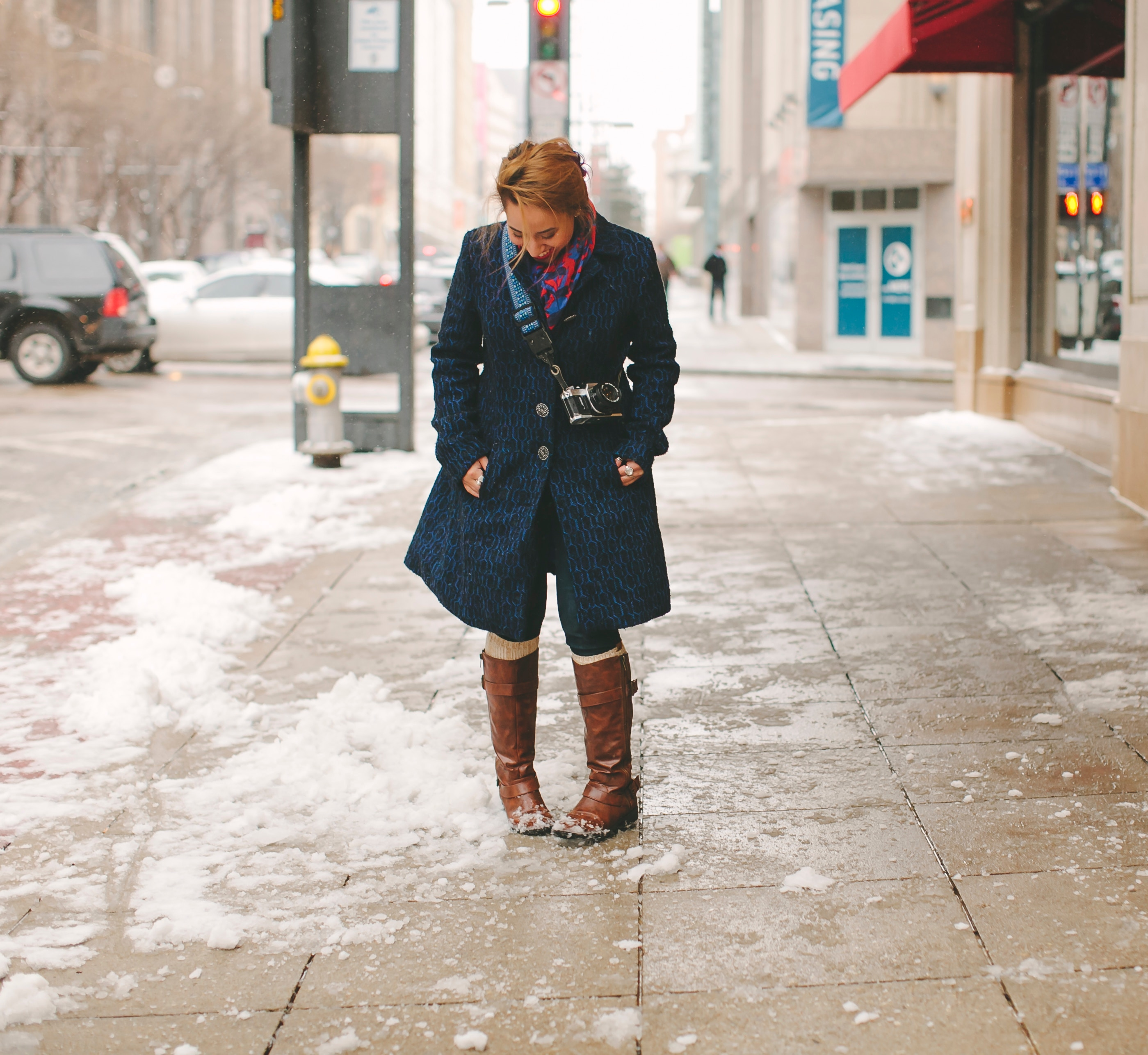 Outerwear before a winter coat this Christmas